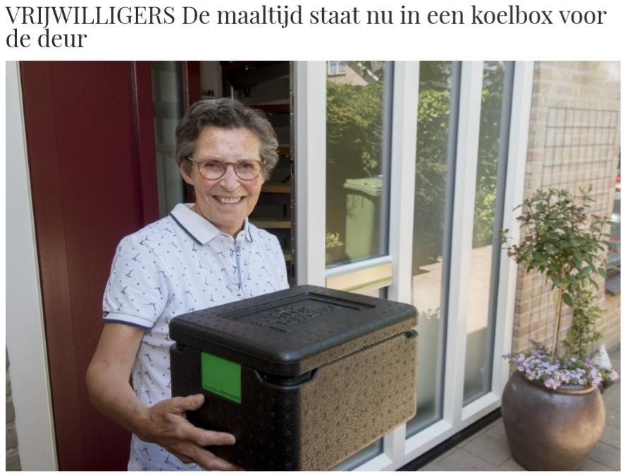vrijwilliger Tafeldekje Gelderlander